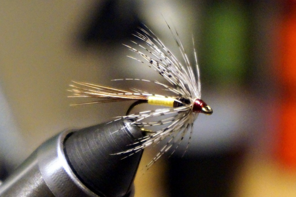 A Sulphur soft hackle, effective when sulphurs are out or as a searching pattern