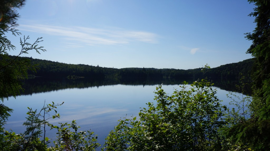 Another shot of Big Crow Lake in the morning