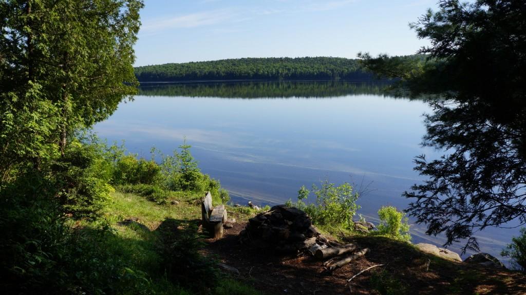 Morning on Big Crow Lake
