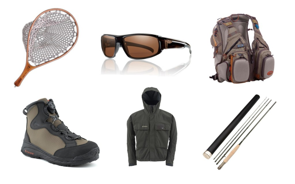 Some of the more notable new fly gear acquired in 2013.