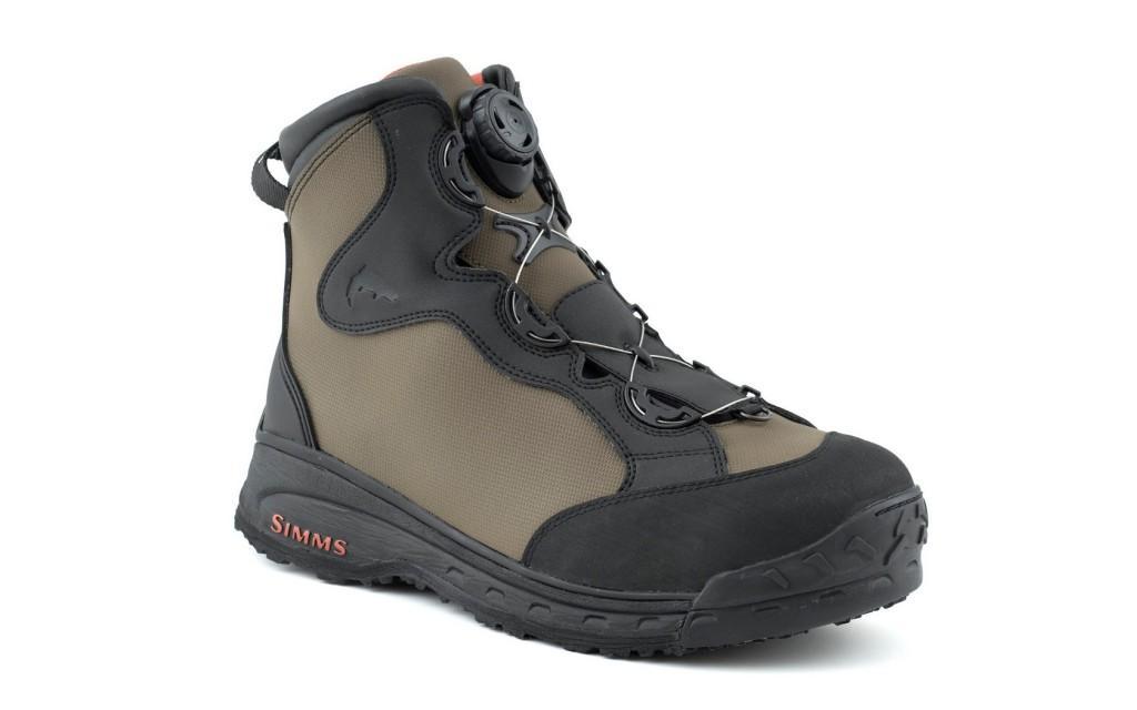 Simms RiverTek Boa wading boots.