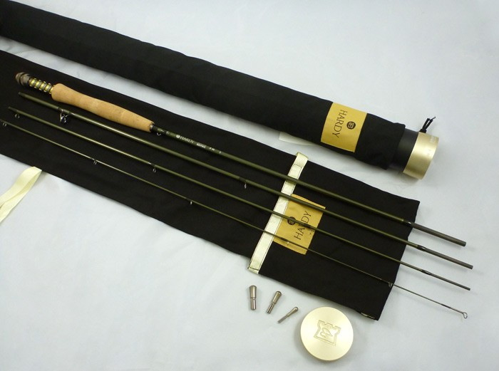 """My upgrade rod of chioce: a Hardy Zenith 8'6"""" 4 weight"""